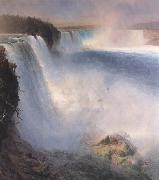 Frederic E.Church Niagara Falls from the American Side oil painting picture wholesale