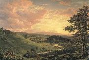 Frederic Edwin Church View near Stockridge oil painting picture wholesale