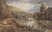 George Barret Jun Cliveden Woods (mk47) oil painting picture wholesale