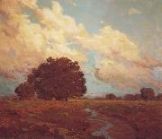 Granville Redmond Trees by a Meadow Stream oil painting artist