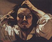 Gustave Courbet Self-Portrait The Desperate Man oil painting