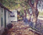 Guy Rose San Gabriel Road oil painting picture wholesale