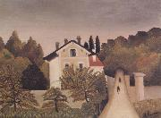 Henri Rousseau Landscape on the Banks of the Oise oil painting picture wholesale