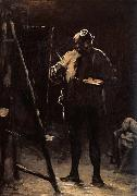 Honore Daumier The Painter before his Picture oil painting picture wholesale