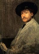 James Abbot McNeill Whistler Arrangement in Grey Portrait of the Painter oil painting picture wholesale