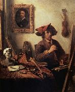 Job Berckheyde The Painter in his Studio oil painting picture wholesale