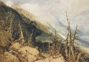 Joseph Mallord William Truner Montanvert,Valley of Chamouni (mk47) oil painting picture wholesale