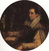 Lavinia Fontana Self-Portrait in the Studiolo oil painting picture wholesale