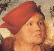 Lucas Cranach the Elder Details of Dr.Johannes Cupinian (mk45) oil painting picture wholesale