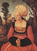 Lucas Cranach the Elder Anna Putsch,First Wife of Dr.johannes (mk45) oil painting picture wholesale