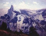Maurice Braun Yosemite,Evening from Glacier Point, oil painting reproduction