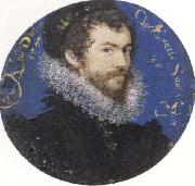 Nicholas Hilliard Self-Portrait,Aged Thirty oil painting artist