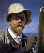 Peder Severin Kroyer Self-Portrait oil painting picture wholesale