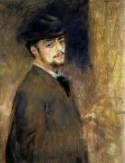 Pierre Auguste Renoir Self-Portrait oil painting artist