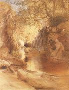 Samuel Palmer A Cascade in Shadow oil painting picture wholesale