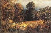 Samuel Palmer The Gleaning Field oil painting picture wholesale