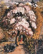 Samuel Palmer In a Shoreham Garden oil painting artist