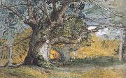 Samuel Palmer Oak Trees,Lullingstone Park oil painting reproduction