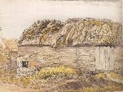 Samuel Palmer A Barn with a Mossy Roof oil painting reproduction