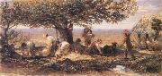 Samuel Palmer The Sheep Shearers oil painting picture wholesale