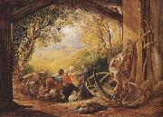 Samuel Palmer The Shearers oil painting picture wholesale