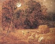Samuel Palmer The Harvest Moon oil painting picture wholesale