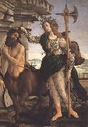 Sandro Botticelli Pallas and the Centaur oil painting picture wholesale