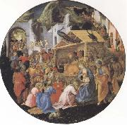 Sandro Botticelli Filippo Lippi,Adoration of the Magi oil painting picture wholesale