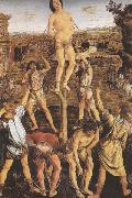 Sandro Botticelli Antonio and Piero del Pollaiolo Martyrdom or St Sebastian oil painting picture wholesale