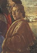 Sandro Botticelli Detail from the Adoraton of the Magi oil painting picture wholesale
