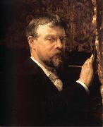 Sir Lawrence Alma-Tadema,OM.RA,RWS Self-Portrait oil painting artist