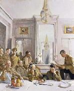 Sir William Orpen Some Members of the Allied Press Camp,with their Pres Officers oil painting picture wholesale