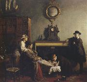 Sir William Orpen A Mere Fracture oil painting picture wholesale