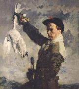 Sir William Orpen The Dead Ptarmigan oil painting artist