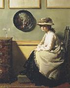 Sir William Orpen The Mirror oil painting artist