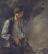 Sir William Orpen The Man from the West:Sean Keating oil painting artist