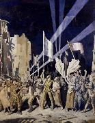 Sir William Orpen Armistice Night,Amiens oil painting picture wholesale
