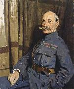 Sir William Orpen Marshal Foch,OM oil painting picture wholesale