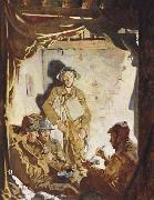 Sir William Orpen Soldiers Resting at the Front oil painting picture wholesale