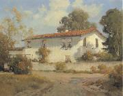 unknow artist Sherman Rose Adobe,monterey oil painting picture wholesale