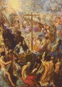 Adam Elsheimer The Exaltation of the Cross from the Frankfurt Tabernacle oil painting picture wholesale