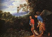 Adam Elsheimer Copy after the lost large Tobias and the Angel oil painting picture wholesale