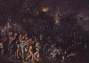 Adam Elsheimer The burning of Troy oil painting picture wholesale