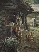 Anders Zorn vattna hasten oil painting picture wholesale