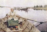 Anders Zorn kyrkfard oil painting picture wholesale