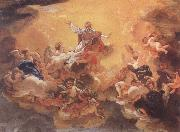Baciccio The Apotheosis of  St Ignatius oil