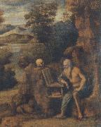 CIMA da Conegliano St. Jerome in the wilderness oil painting picture wholesale