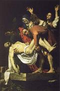 Caravaggio Christian burial oil painting picture wholesale