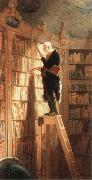 Carl Spitzweg the bookworm oil