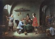 David Teniers gambling scene at an lnn oil painting picture wholesale